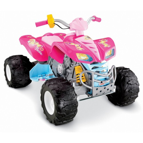 Pink Barbie ATV Ride-on