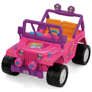 Pink Barbie Power Wheels