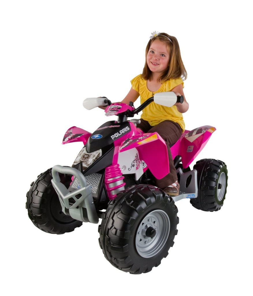 cool pink quad for girls