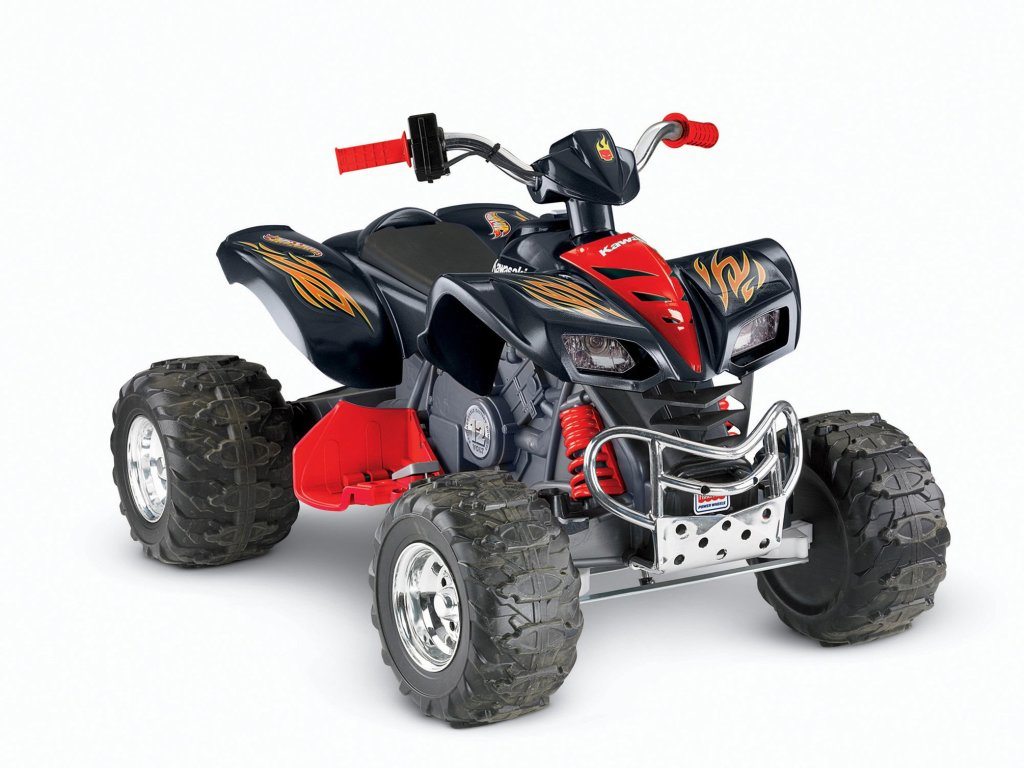 Power Wheels Hot Wheels Kawasaki KFX ATV for boys