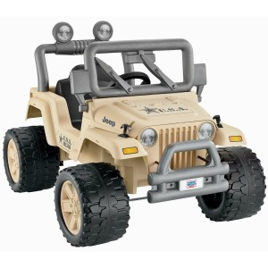 Power Wheels Camo Jeep