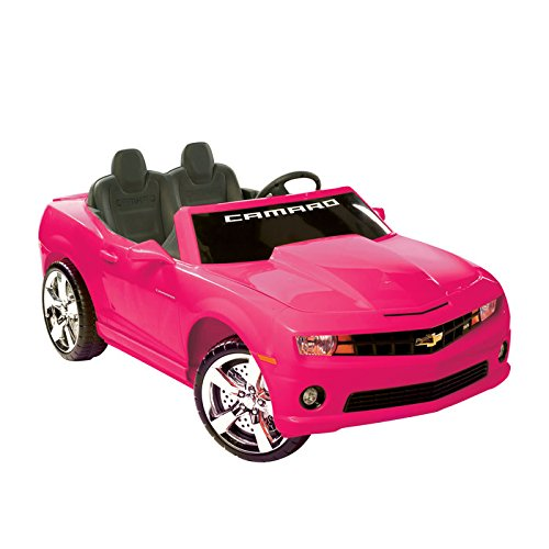 PINK Chevrolet Camaro Ride-on for Girls