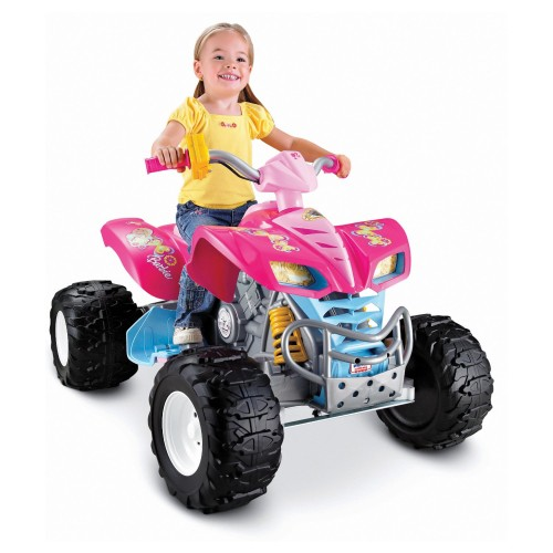Pink Power Wheels Girls Quad