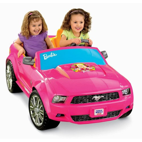 Power Wheels Pink Barbie Ford Mustang