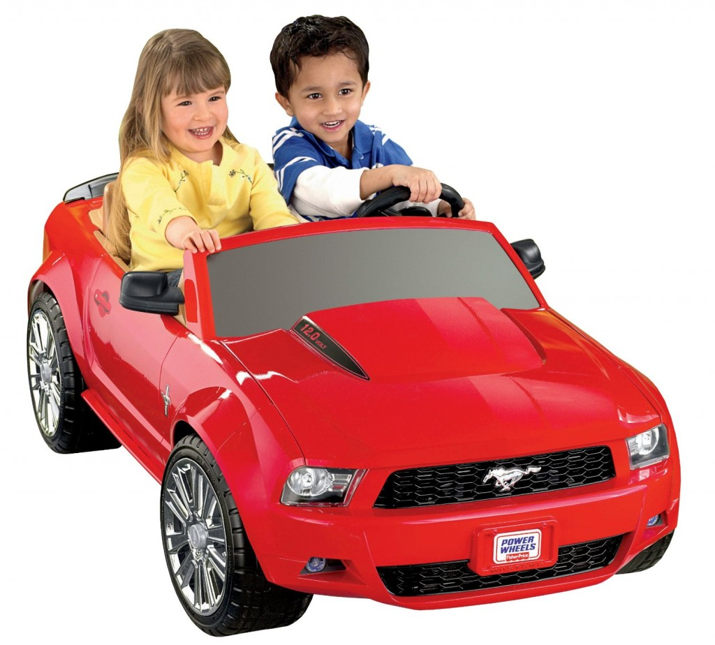child Mustang