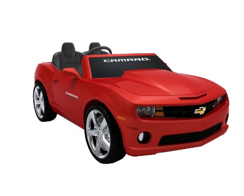 Red Chevrolet Camaro Ride on