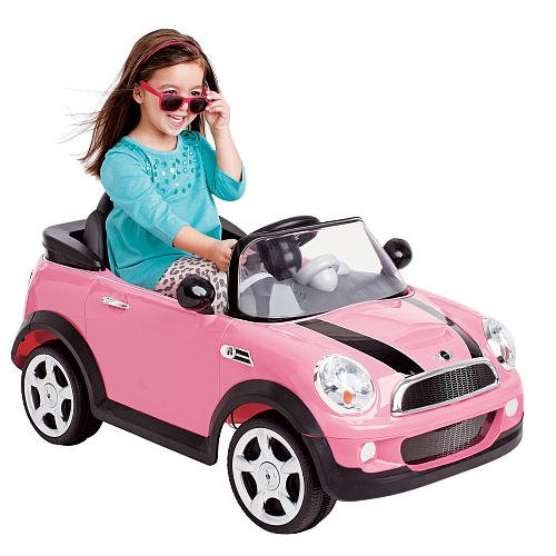 pink mini cooper for girls