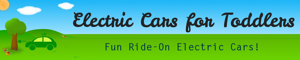 Electric Cars for Toddlers header image