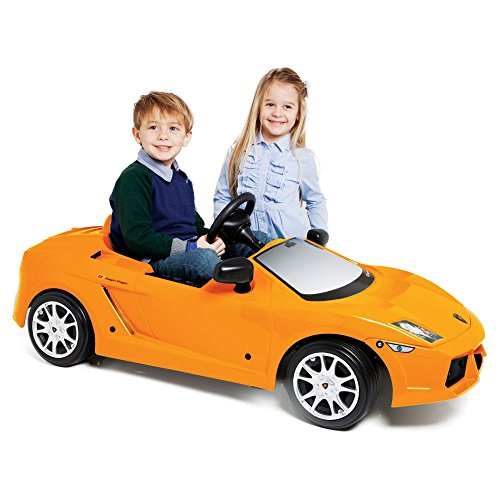 Child Lamborghini Gallardo 12V Electric Ride On, Orange