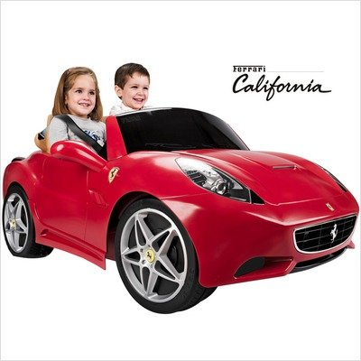 cute Ferrari electric car for kids