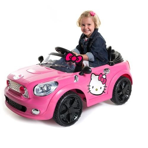 Hello Kitty Mini Coupe 6 Volt Battery Powered Ride On