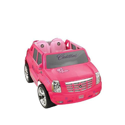 Fisher-Price Power Wheels PINK Barbie Cadillac Escalade