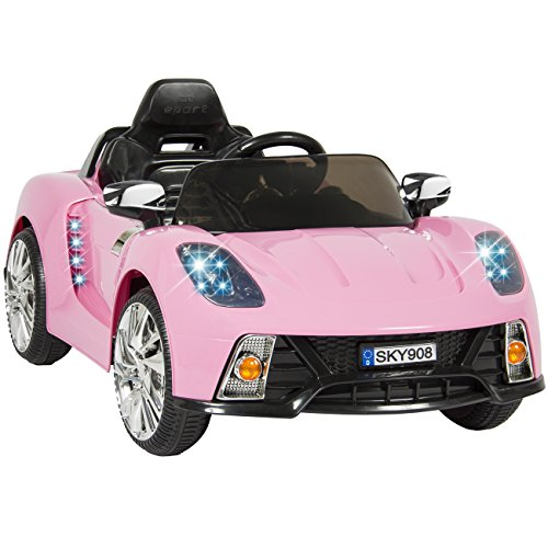 Toy Cars For 9 Year Olds : Cute electric pink cars for girls ride