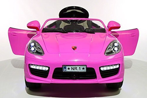 2016 luxurious pink porsche boxster style power wheels for girls