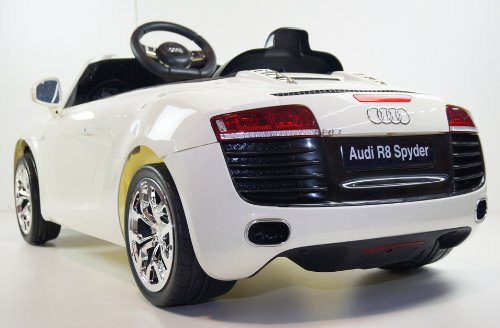 AUDI R8 WHITE Ride-On Car for Kids