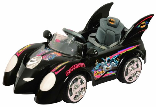 Batman Batmobile Battery Powered Children Ride On Car for Boys