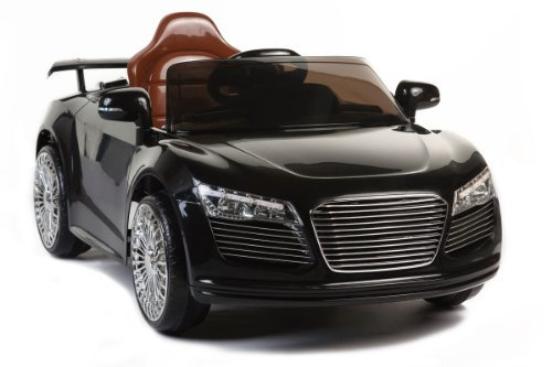 Black Audi R8 Style 12V Battery Powered Kids Ride On Car
