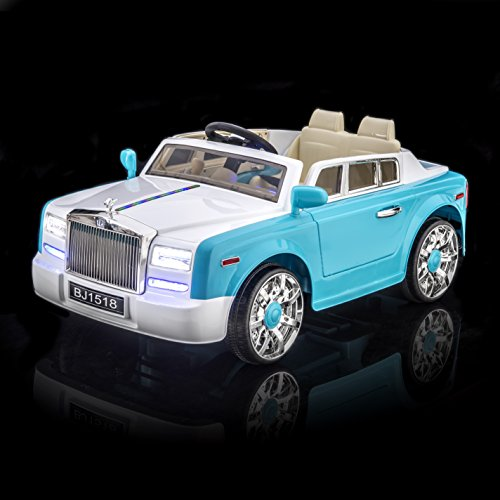 Cool Rolls Royce Phantom Style Luxury Kid's Ride On Car