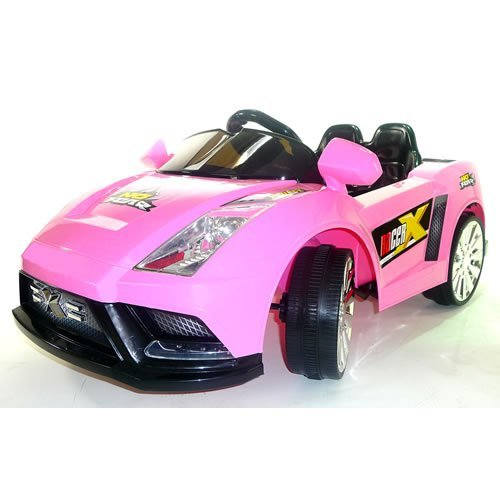 PINK Lamborghini Style Ride on Car for Girls