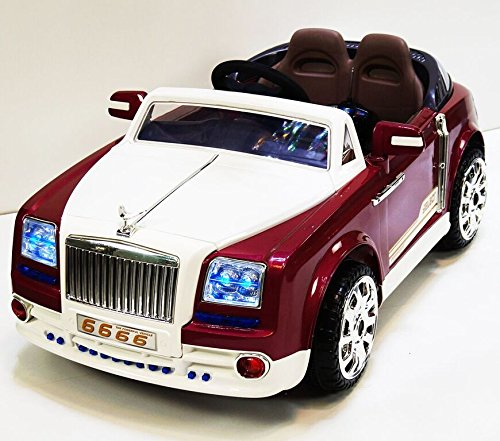 Rolls Royce Electric Kid Car