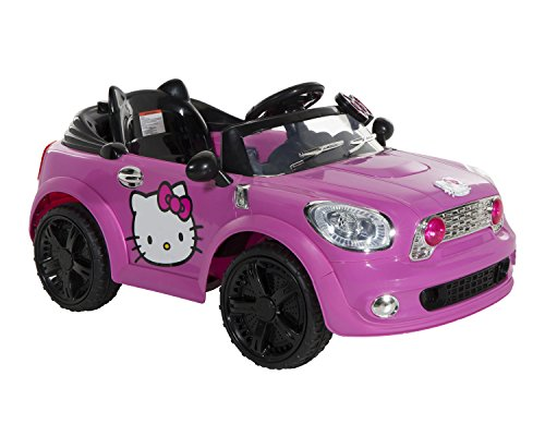 Hello Kitty Coupe Ride On Car