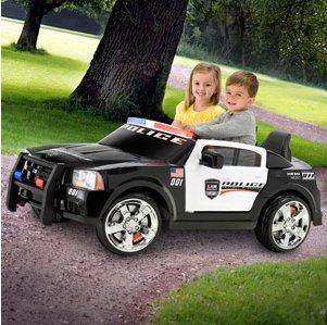 Child Police Car