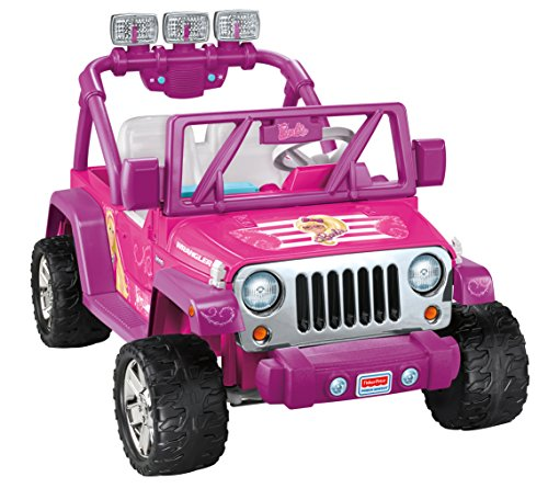 Pink Barbie Jeep Wrangler for Girls