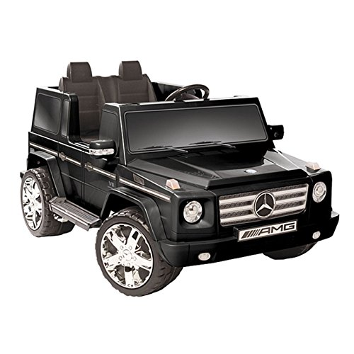 Cool Black Mercedes Benz Battery Operated Ride-on for Kids