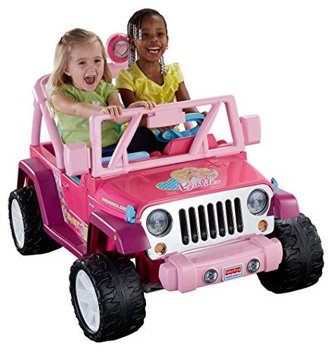 Cute Power Wheels Barbie Jeep for Girls