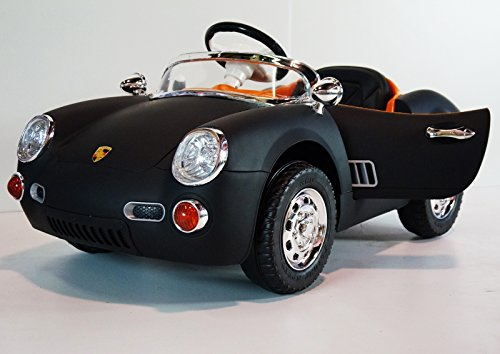 Black Porsche Roadster Style for Kids