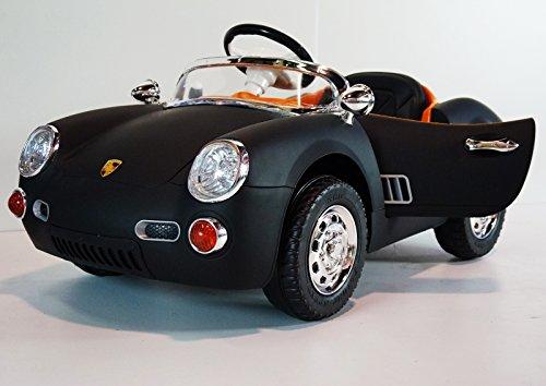 Black Porsche Roadster Style for Kids