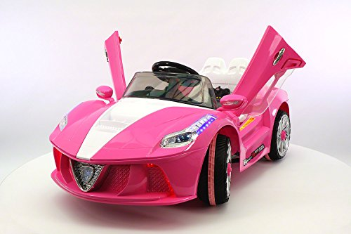 PINK Ferrari Ride On Car