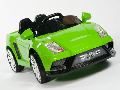 Green Ferrari Bambini Italia Ride on Car