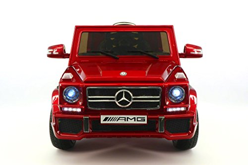 12V Mercedes G55 Premium Ride On SUV Child Ride-On Car