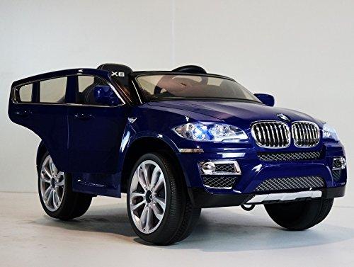 BLUE Color BMW X-6 Kids Ride on