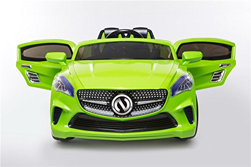 Green Color Ride on Mercedes for Kids