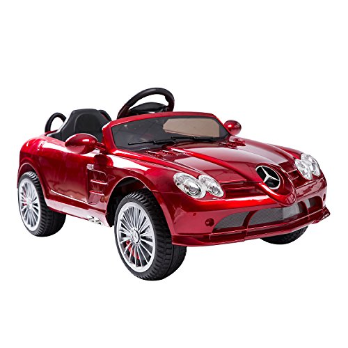 RED Mercedes Electric Ride On Toy
